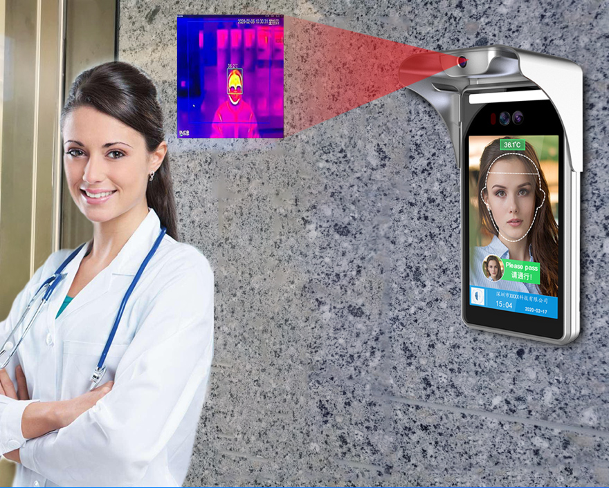 What should pay attention while using Face Recognition Temperature Measurement Access Control system?