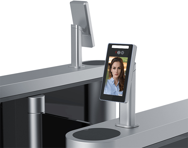 Wall-Mounted Face Recognition Time Attendance Access Control Machine