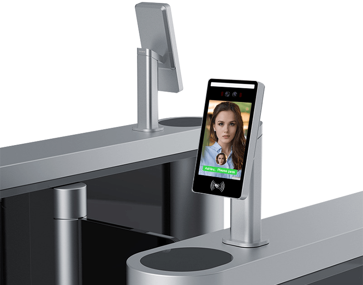 Face Recognition + IC Card Attendance And Access Control