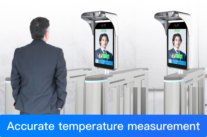 What are the optional features of Face Recognition Temperature Measurement system?