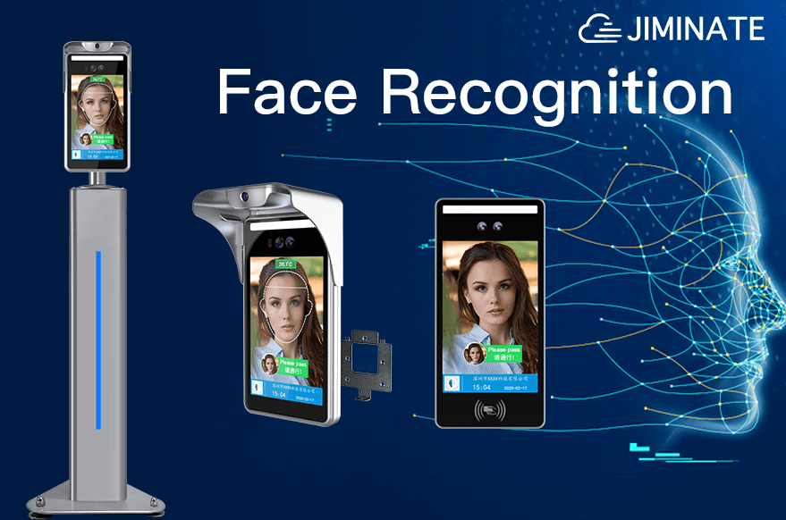 What is the portrait processing flow of face recognition?