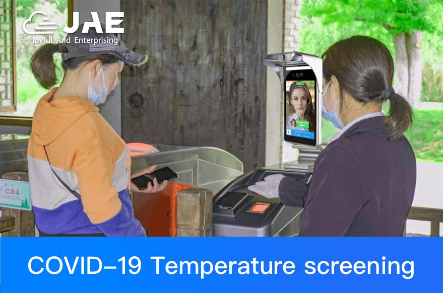 Non-contact Temperature Measurement & Face Recognition Solution for COVID-19 Fight