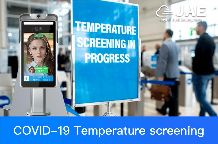 JAEMONT Body Temperature Detection Kiosks Combat the Threat of COVID-19
