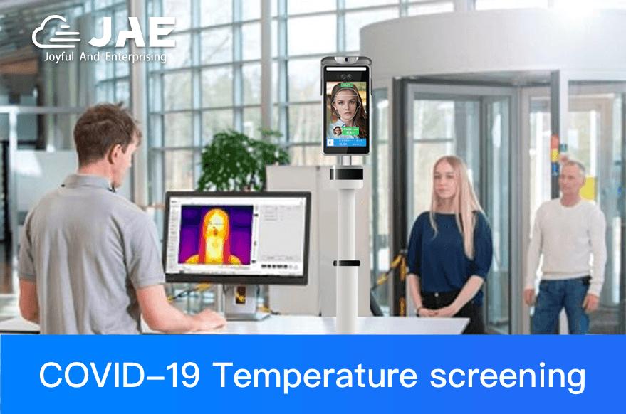 JAEMONT introduces temperature screening kiosk