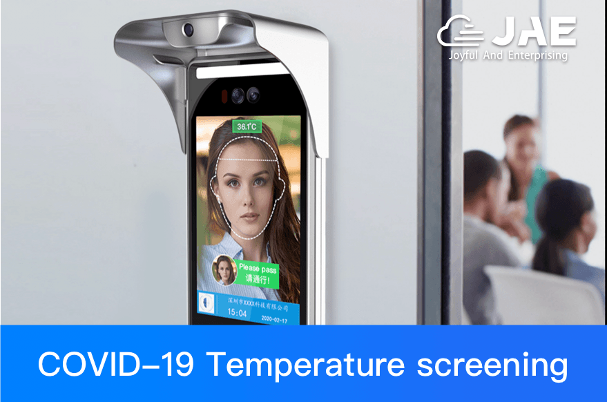 JAEMONT facial recognition temperature measurement device is suitable for every workplace