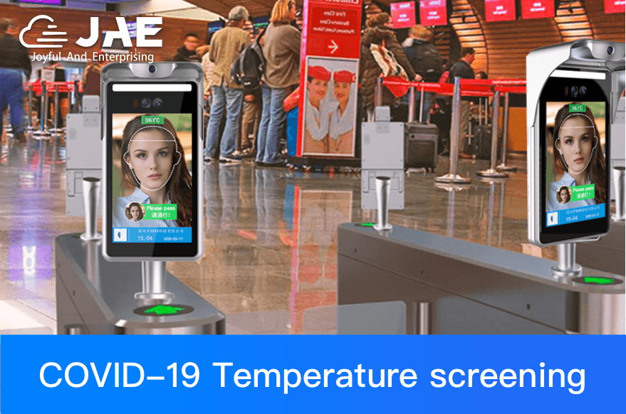 Temperature Screening Kiosk with Access Control & Face Recognition