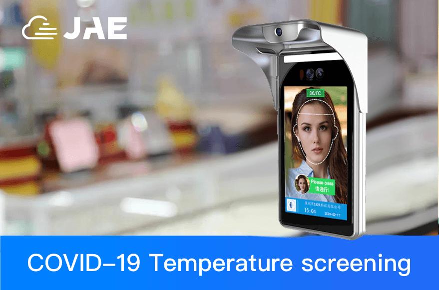 Smart Face Temperature Measurement Face Recognition Terminal