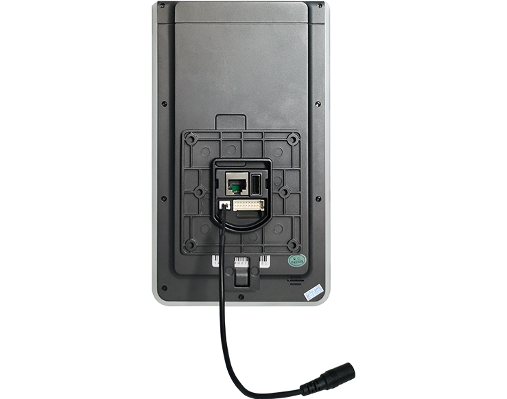 Thin and Light Face Recognition Touch Screen Access Control system