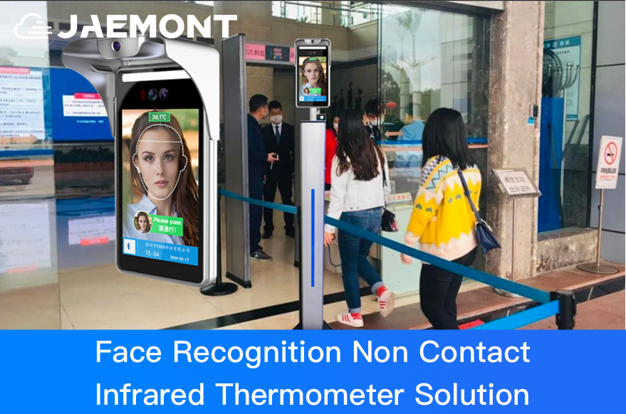 JAEMONT Face Recognition Non Contact Infrared Thermometer Solution