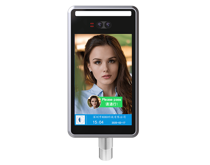 8-inch face recognition access control attendance machine