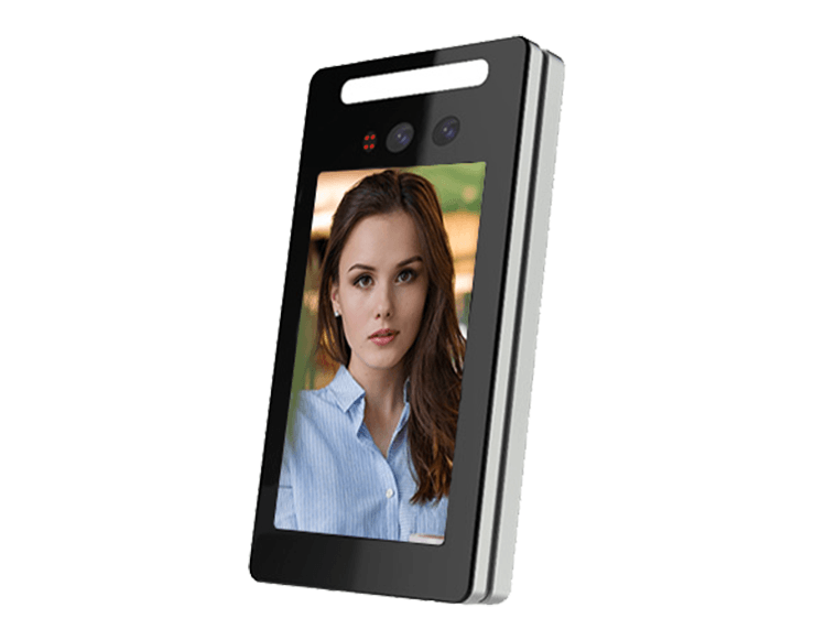 Column Type Face Recognition Time Attendance Access Control Machine