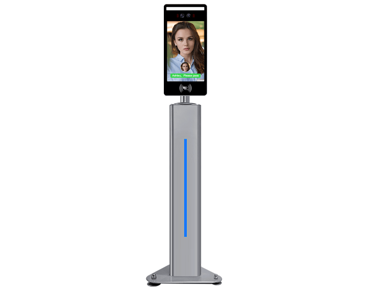 Gate Type Face Recognition + IC Card Attendance And Access Control